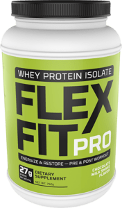 Flex Fit Pro Chocolate Milkshake Flavor Whey Powder Package